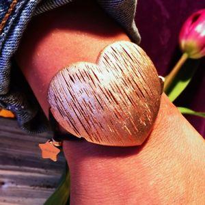 【送料無料】ブレスレット アクセサリ― シルバーユニークデザインブレスレットローズゴールド** rose gold on 925 *hallmarked silver unique design adjustable bracelet