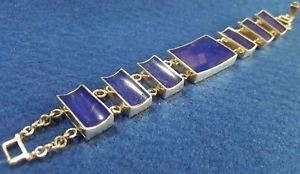 【送料無料】ブレスレット アクセサリ― シルバーレディースラピスラズリブレスレットsilver 925 ladies lapis lazuli bracelet