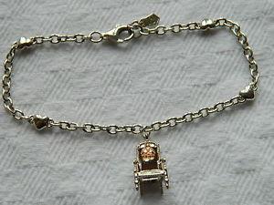 【送料無料】ブレスレット アクセサリ― スターリングシルバーウェールズゴールドロイヤルブレスレットclogau sterling silver amp; welsh gold royal throne bracelet