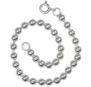 【送料無料】ブレスレット アクセサリ― ボールビーズインチスターリングシルバーブレスレットball bead 4mm short 68 inch 17cm sterling silver bracelet