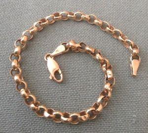 【送料無料】ブレスレット アクセサリ― ゴールドベルチャーブレスレット9 ct gold belcher bracelet