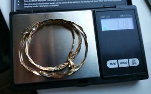【送料無料】ブレスレット アクセサリ― イタリアイエローホワイトゴールドデリケートレディースロープネックレス