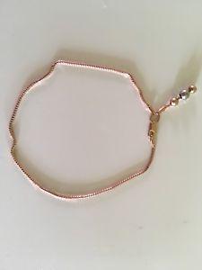 【送料無料】ブレスレット アクセサリ― ロシアローズゴールドkブレスレット585 russian rose gold14 k bracelet