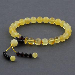 【送料無料】ブレスレット アクセサリ― バルトブレスレットラウンドビーズnatural baltic amber bracelet round beads 7mm 568gr ad13
