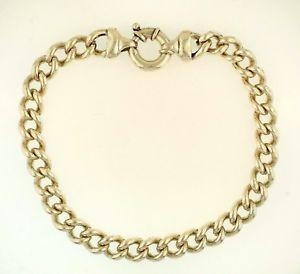【送料無料】ブレスレット アクセサリ― ブレスレットミリクレオパトラスプsterling silver 975 rounded curb bracelet 9mm wide w cleopatra clasp