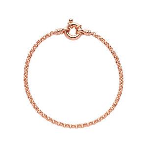 【送料無料】ブレスレット アクセサリ― ロンドンローズゴールドミニベルチャーブレスレットリンクlinks of london 18kt rose gold vermeil mini belcher bracelet 185cm length