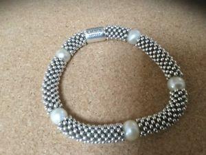 【送料無料】ブレスレット アクセサリ― ロンドンスターリングシルバーホワイトパールブレスレットリンクlinks of london sterling silver white pearl effervescence star bracelet