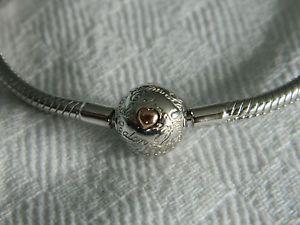 【送料無料】ブレスレット アクセサリ― シルバーウェールズゴールドビーズブレスレットclogau silver amp; welsh gold calon lan bead charm bracelet 19cm rrp 13900
