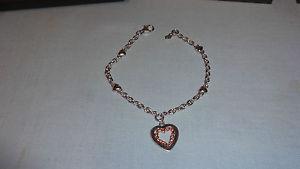 【送料無料】ブレスレット アクセサリ― ウェールズスターリングシルバーローズゴールドブレスレット¥welsh clogau sterling silver amp; rose gold 7 one bracelet rrp 149