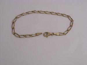 【送料無料】ブレスレット アクセサリ― ゴールドブレスレット9ct gold bracelet    725  40gms   secondhand