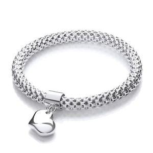 【送料無料】ブレスレット アクセサリ― ハートペンダントファンシーブレスレットメッシュmesh with heart pendant fancy bracelet