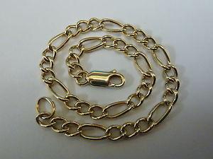 【送料無料】ブレスレット アクセサリ― ゴールドフィガロブレスレットstunning 9ct gold 8 figaro bracelet