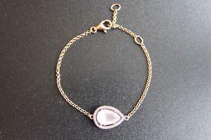 【送料無料】ブレスレット アクセサリ― トーマスシルバーローズゴールドローズクォーツブレスレットthomas sabo silver rose gold plated rose quartz amp; cz bracelet a13264179l195