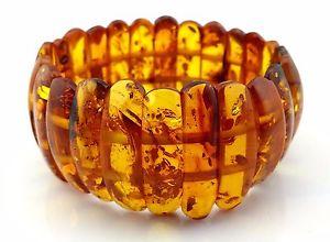 【送料無料】ブレスレット アクセサリ― バルトオレンジブレスレット441 gr genuine baltic honey amber bracelet not pressed