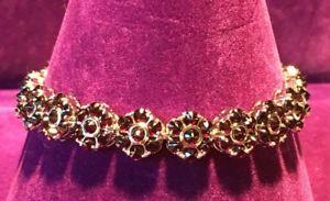 【送料無料】ブレスレット アクセサリ― スターリングシルバーガーネットデザイナーユニークブレスレットインチ** 925 sterling silver amp; garnet designer unique bracelet 7 inch