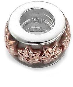 【送料無料】ブレスレット アクセサリ― ゴールドシルバーローズゴールドラッパスイセンマイルストーンビーズclogau gold silver and 9ct rose gold daffodil milestones bead charm