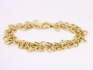 【送料無料】ブレスレット アクセサリ― レディースブレスレットゴールドstunning ladies bracelet 9ct gold beautiful 375 52g sh69