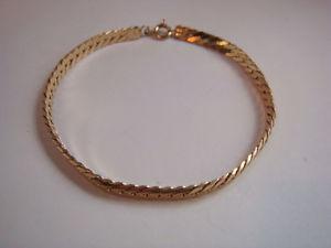 【送料無料】ブレスレット アクセサリ― ファイングラムゴールドブレスレットインチfine 65 gram 9ct gold bracelet 75 inches 19 mms