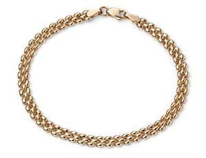 【送料無料】ブレスレット アクセサリ― イエローゴールドソリッドレディースファッションレディースチェーンブレスレット9ct yellow gold solid womens fashion ladies hand chain bracelet