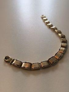 【送料無料】ブレスレット アクセサリ― ゴールドブレスレットローマレディース9ct gold bracelet roman numerals ladies gents 375 hallmark heavy 11g excellent