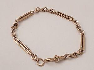 【送料無料】ブレスレット アクセサリ― スタイリッシュソリッドゴールドファンシーバーブレスレットフル1 stylish 9ct solid gold fancy bar bracelet full british hallmark