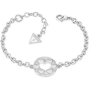 【送料無料】ブレスレット カフbracciale guess ubb82054s cuore argento