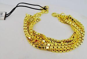 【送料無料】ブレスレット カフゴールドunoaerre bracciale firmato donna ottone dorato oro multifil cerimonia matrimonio
