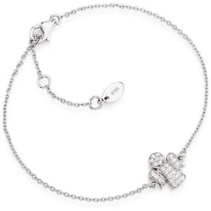 【送料無料】ブレスレット カフアーメンシルバーファッションクラシックブラbracciale amen classico bra in argento 925 zirconi angioletto moda donna bambina
