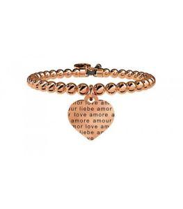 【送料無料】ブレスレット カフコレクションボーダーオリジナルkidult bracciale love collection cuore amore senza confini 731052 originale nuo