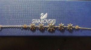 【送料無料】ブレスレット ブレスレットジェットスターミディアムスワロフスキーfirework bracelet jet stars gold plated medium swarovski 5230296