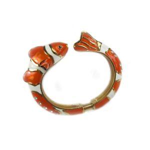 【送料無料】ブレスレット ブレスレットdonna bracciale pesce villanueva carey metallo 0406