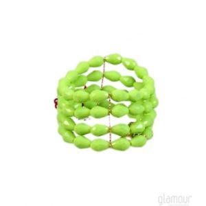 【送料無料】ブレスレット カフドグリーンbracciale de liguoro art 62a120 verde