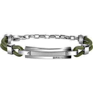 【送料無料】ブレスレット ブレスレットブリッジbracciale uomo verde bridge tj1506 breil