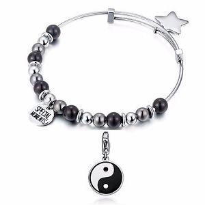 【送料無料】ブレスレット カフヤンsagapo bracciale yin e yang sagap shad03 sha224