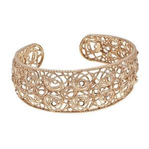 【送料無料】ブレスレット メタルブレスレットスチールピンクゴールドゴールドbracciale rigido donna stroili oro innocence 1512601 in acciaio pvd oro rosa