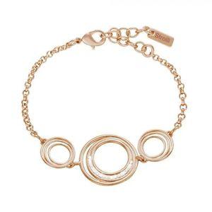 【送料無料】ブレスレット ブレスレットbracciale stroili in ottone rosato e cristalli magnetic 1628284