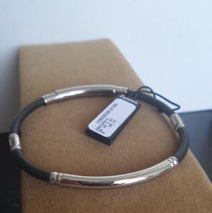 【送料無料】ブレスレット カフбраслетシルバーシルバーブレスレットbr1313 zancan bracciale firmato argento браслет silver bracelet uomo esb026bn