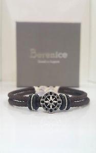 【送料無料】ブレスレット カフシルバーbracciale berenice argento 925