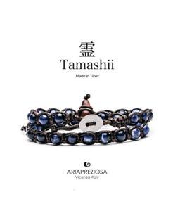 【送料無料】ブレスレット カフダブルラウンドリファレンスbracciale tamashii doppio giro sodalite ref bhs60051