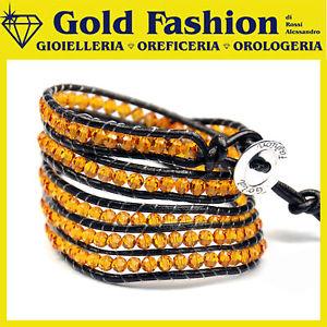 【送料無料】ブレスレット カフラップブレスレットスワロフスキーエレメントbracciale avvolgente wrap bracelet swarovski elements gfsw23
