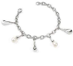【送料無料】ブレスレット ブレスレットコレクションパールホワイトスチールbracciale morellato collezione perle xu13 98 perla bianca acciaio