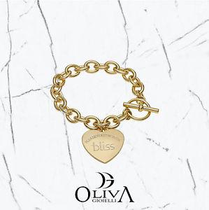 【送料無料】ブレスレット ブレスレットbliss bracciale ottone charms heart follow your bliss 20058068