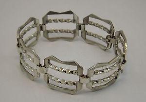 【送料無料】ブレスレット シルバービンテージブレスレットシルバーブレスレットbracciale in argento vintage anni 70 silver bracelet