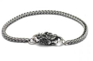 【送料無料】ブレスレット シルバーカフtrollbeads bracciale start in argento fiori di ciliegio taglo00018 br