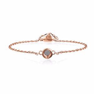 【送料無料】ブレスレット ブレスレットピンクゴールドbreil stones bracciale con finitura lucida ip oro rosa  tj2227
