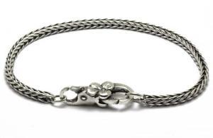 【送料無料】ブレスレット シルバーカフtrollbeads bracciale start in argento con chiusura fiore taglo00026 br