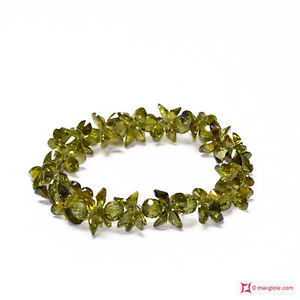【送料無料】ブレスレット ブレスレットジルコンダークグリーン**mg** bracciale zircone verde scuro 170 ct