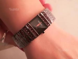 【送料無料】ブレスレット クロックオリジナルスワロフスキーブレスレットbracciale con orologio swarovski originali per donna