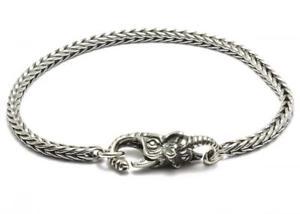 【送料無料】ブレスレット カフシルバーエレファントtrollbeads bracciale start con chiusura elefante in argento taglo00030 br