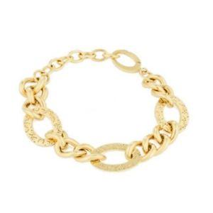 【送料無料】ブレスレット カフリュジョラグジュアリーゴールドbracciale donna liu jo luxury lj1153 oro
